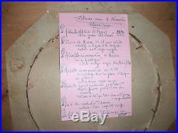 Cadre 14-18 Avec 9 Décorations, Verdun, Combattant Volontaire Etc