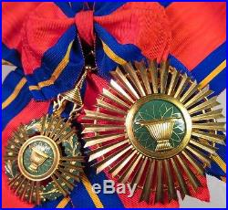 Cambodge Ensemble de Grand croix de l'Ordre Royal de SAHAMETREI
