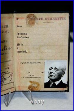 Carte De Commandeur De La Legion D Honneur Du General Gamelin 1924