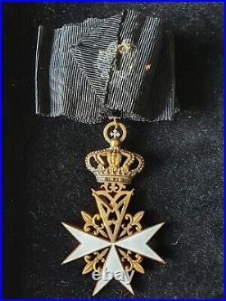 Chevalier Donat De Dévotion Ordre de Malte
