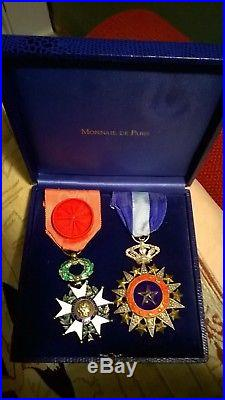 Coffret medailles en l'état
