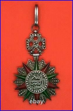 Commandeur De L'ordre Du Nichan Iftikhar De Tunisie 1922 1929. (sw773)