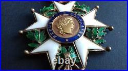 Commandeur De La Legion D Honneur Luxe Argent Et Or