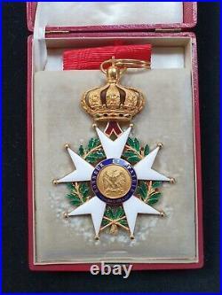 Commandeur Légion D'honneur Napoléon III Or