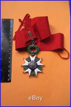 Commandeur Légion d'Honneur en vermeil 4 ème République