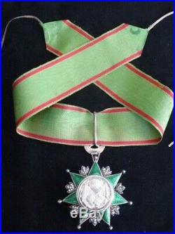 Commandeur de l'OSMANIÉ (Nishani Osmani) Turquie
