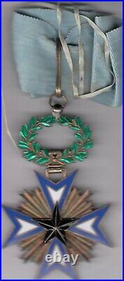 Commandeur de l'Ordre de l'Etoile Noire du Bénin Vermeil Superbe