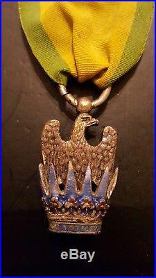 Couronne de fer ordre premier empire napoleon order medal napoleon reproduction