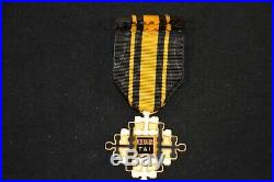Croix D'officier De L'ordre Du Merite CIVIL Thaï 1950/1954-guerre D'indochine