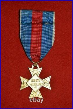 Croix D'officier De L'ordre Du Merite Militaire-1957/1963-classe Or