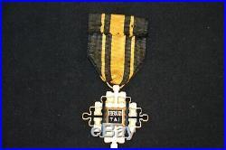 Croix De Chevalier De L'ordre Du Merite CIVIL Thaï 1950/1954-guerre D'indochine