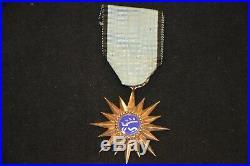 Croix De Chevalier De L'ordre Du Merite Militaire Thaï 1953-guerre D'indochine