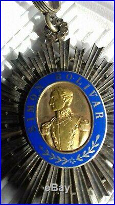 Croix De Commandeur Ordre De Simon Bolivar