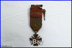 Croix De Guerre 1914/15 Avec 8 Citations