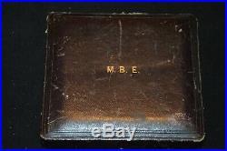 Croix De Membre De L'ordre De L'empire Britannique 1916 Premier Modele Mbe-