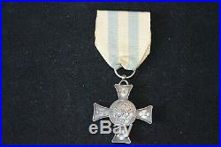 Croix De Mentana 1867-modele En Argent-second Empire Napoleon Iii-italie-vatican