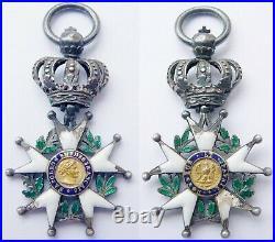 Croix Insigne Ordre Légion D'honneur Napoléon 1er Premier Empire Type 1812 1815