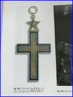Croix aumônier Catholique Indochine Algérie fabrication privée parachutiste