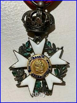 Croix de Chevalier de la Légion d'Honneur Modèle de la Restauration Henri IV