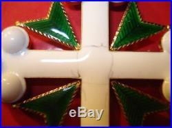 Croix de Commandeur Ordre des Sts Maurice et Lazare, Italie
