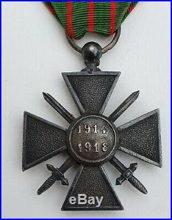 Croix de Guerre 1914-1918, argent