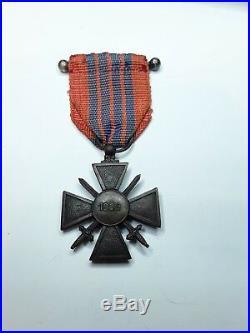 Croix de Guerre 1939 Milan Ruban Giraud