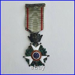 Croix de Juillet 1830, Donné par la Nation, quelques petits manques aux émmaux