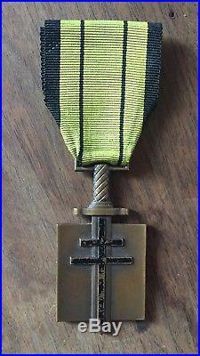 Croix de compagnon de la liberation 1er Type Londres. France libre FFL FAFL FNFL
