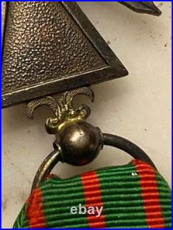 Croix de guerre 1914 1916 en argent/vermeil