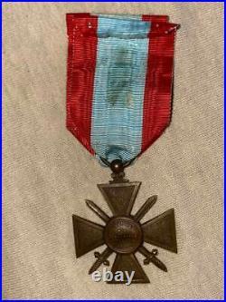 Croix de guerre TOE modele à la faute d'orthographe
