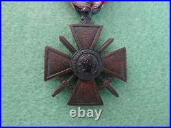 Croix de guerre des TOE