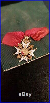 Croix de lordre royal et militaire de St Louis en or