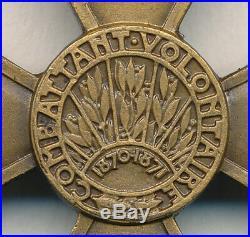 Croix du combattant volontaire 1870 1871