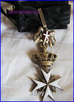 DEC5010 COMMANDEUR ORDRE DE LA MALTE ou de St JEAN DE JERUSALEM