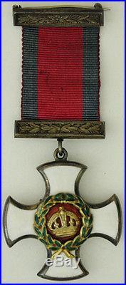 DECORATION Grande-Bretagne D. S. O. GUERRE 1914-18 MAISON PLATT