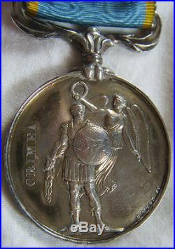 Dec3973 Medaille Campagne De Crimee 1854 Sebastopol Alma Napoleon III