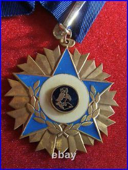Dec4198 Commandeur Odre De La Chouette Order Medal