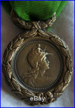 Dec4910 Medaille Engages Volontaires Mineurs 1870-1871