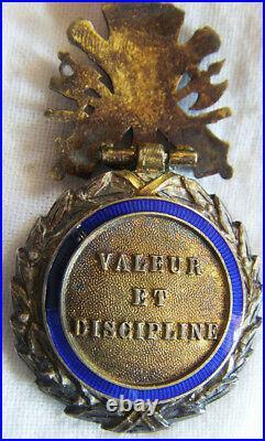 Dec5175 Medaille Militaire Iii° Republique Modele Luxe