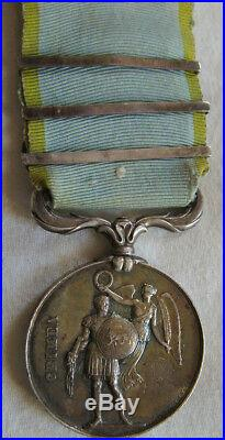 Dec5305 Medaille Campagne De Crimee 1854 Sebastopol Alma Inkermann