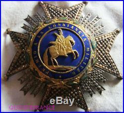 Dec5351 Plaque Ordre De Sainte Hermenegilde Royaume D'espagne