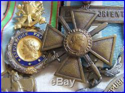 Dec5716 Ensemble 6 Decorations Pendantes 1939-1940 Indochine