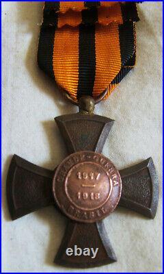 Dec6198 Croix De La Grande Guerre 1917-1918 Bresil