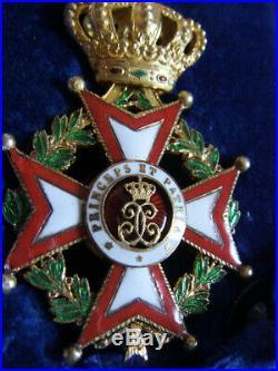 Dec6205 Officier Ordre De Saint Charles Monaco