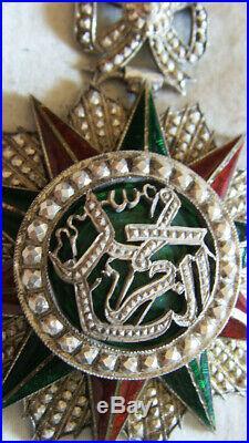 Dec6221 Commandeur Ordre Du Nichan Iftikar Tunisie Mohamed El-naceur 1906-22