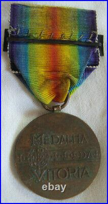 Dec6722 Medaille Interalliee De La Victoire 1918 Portugal