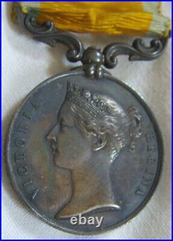 Dec6790 Medaille De La Baltique 1854-1855 Napoleon III
