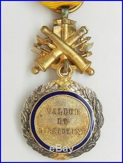 Decom 031 Medaille Militaire Iii° Republique Modele Dit Des Generaux