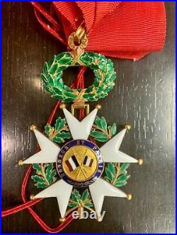 Décoration Légion D'honneur Étoile De Commandeur Iiieme Republique En Or