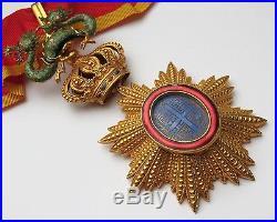 Decoration ORDRE DU DRAGON D'ANNAM Commandeur Colonie Francaise FRANCE